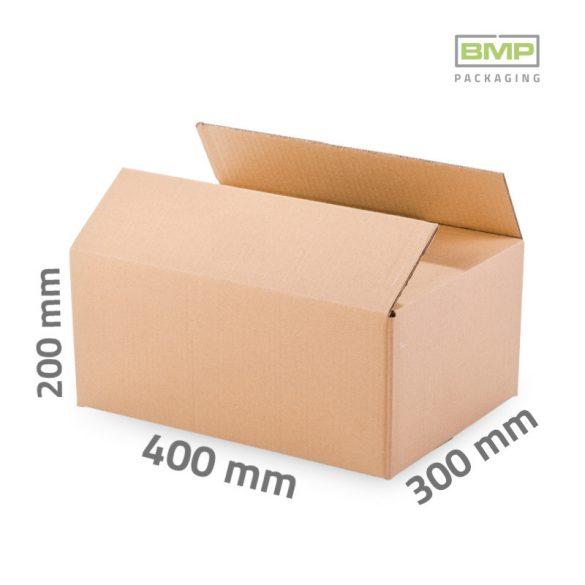 Kartondoboz 400x300x200mm - 3 rétegű papírdoboz