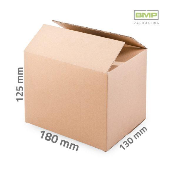 Kartondoboz 180x130x125 mm - 3 rétegű papírdoboz