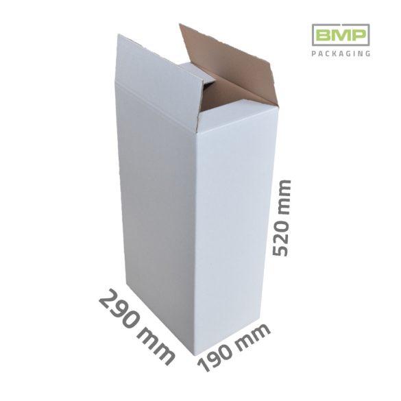Doboz fehér 290 x 190 x 520 mm - 3 rétegű