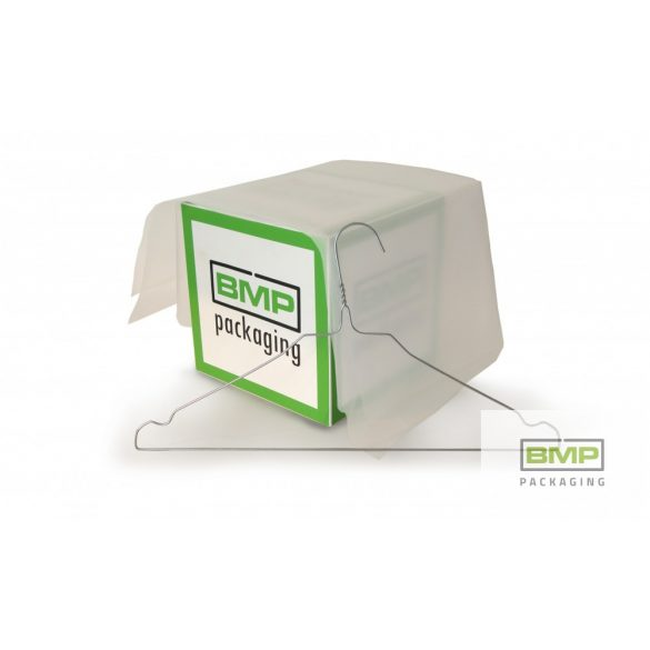 Ruhaipari nadrág fólia zsák PE 500 x 800 x 0,025mm