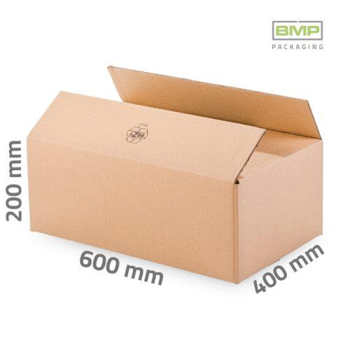 Kartondoboz 600x400x200 mm - 3 rétegű papírdoboz