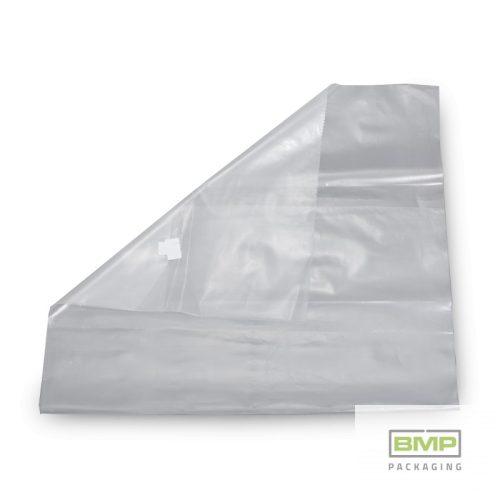 Fólia zsák, átlátszó PE 500 + 2 x 100 x 780