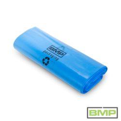 Kék fólia zsák PE 500 + 2 x 130 x 1100 x 0,08mm