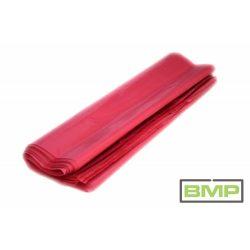 Piros fólia zsák PE 500 + 2 x 130 x 1100 x 0,08