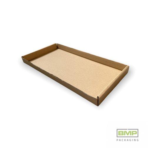 Papírtálca hullámkarton - 360x174x28 mm